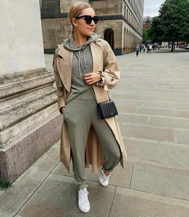 Элегантная и красивая: стильная женщина слегка за 40