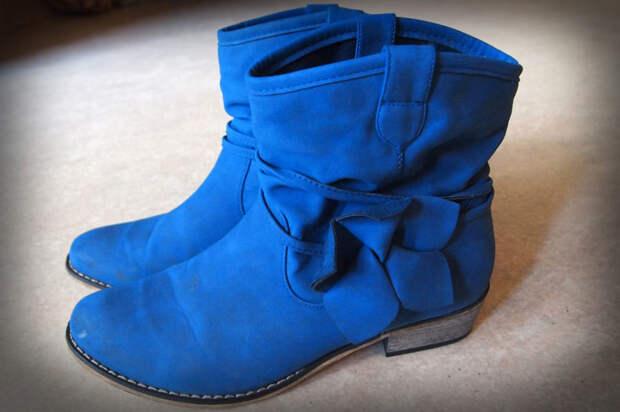 Убираем зимнюю обувь на хранение