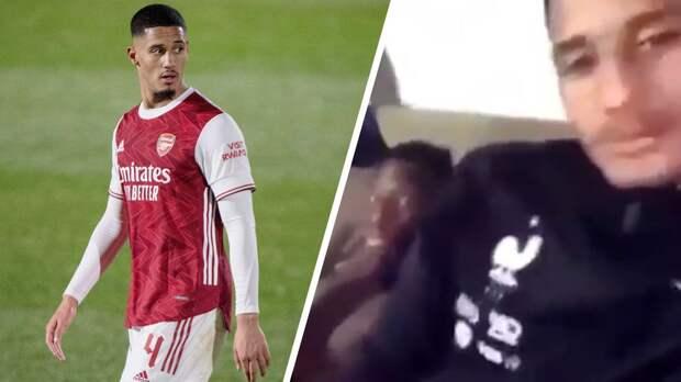 Молодой игрок «Арсенала» угодил в скандал: в сеть слили видео, где он снимает на телефон мастурбирующего партнера. Что скажет Артета?