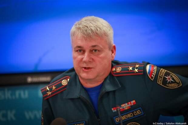С поста главы томского МЧС уволен генерал-майор внутренней службы Олег Еременко