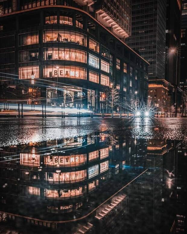 Магия ночных улиц Японии от Джуна Ямамото