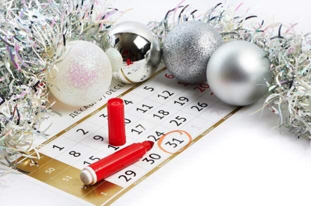 Совфед РФ согласился сделать 31 декабря выходным днем