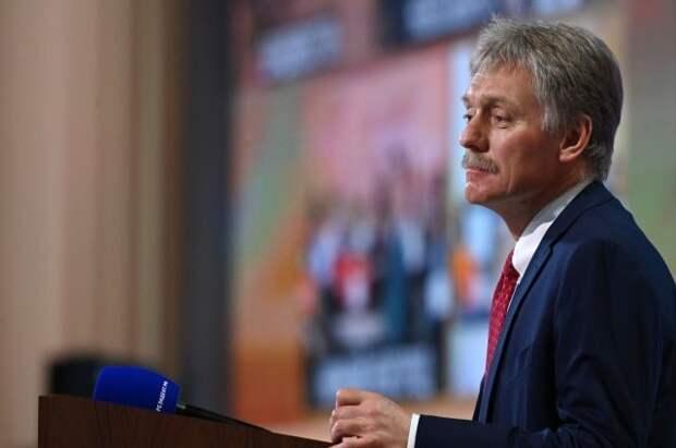 Песков: завершение укладки СП-2 не связано с отказом США от санкций