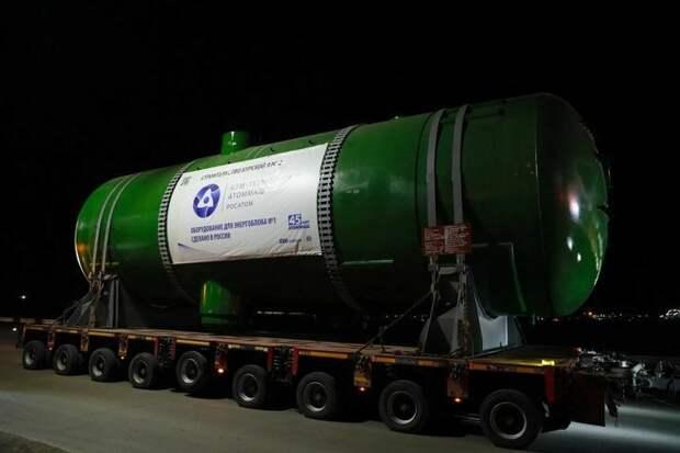 Атоммаш отгрузил парогенераторы нового типа для Курской АЭС-2