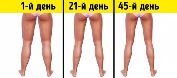 3 минуты перед сном: простые упражнения, с которыми ваши ноги похудеют