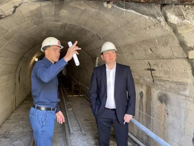 В Севастополе ведут строительство Мартыновского канализационного коллектора