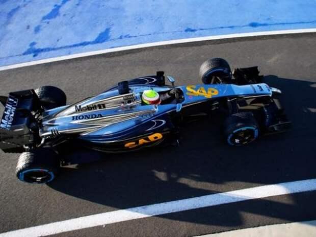 Формула 1: первые километры McLaren-Honda