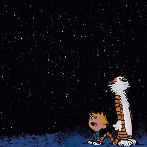 Смотри, как звезды в вышине... Константин Бальмонт