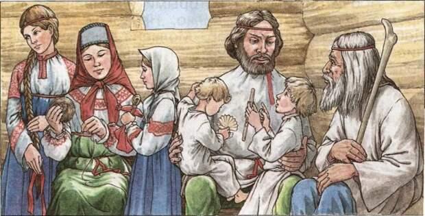 Как славяне сыновей воспитывали Славяне культура, история, россия