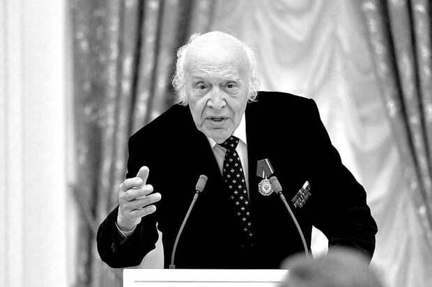 Легендарный диктор СССР Виктор Балашов умер в 96 лет