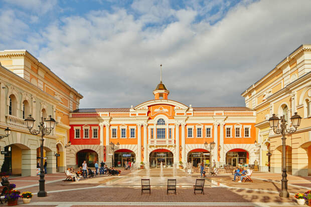 Шопинг марафон в Outlet Village Пулково