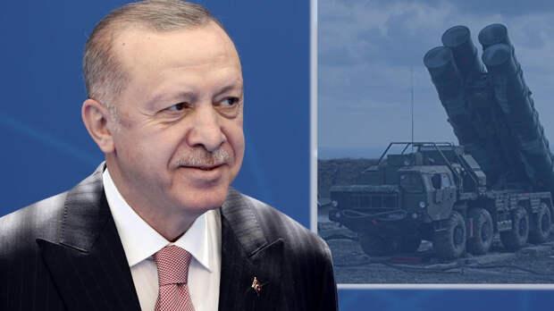 Эрдоган раскрыл Байдену планы на C-400