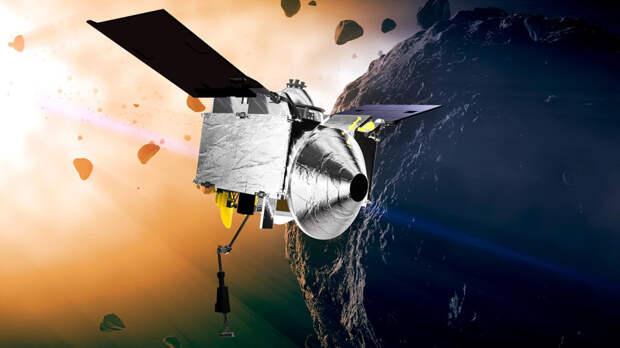 В NASA заявили, что OSIRIS-REx начал путь домой