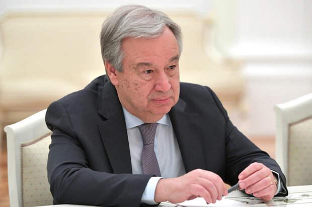Генсек ООН поздравил главреда «Новой газеты» с Нобелевской премией мира