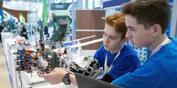 Сергунина: В Москве пройдут соревнования по робототехнике для школьников. Фото: Е. Самарин mos.ru