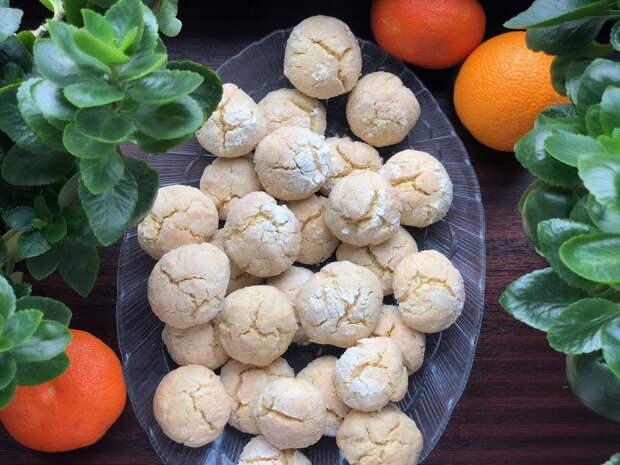 Треснутое апельсиновое печенье – просто покорило мою душу. Простой и шикарный рецепт из обычных продуктов