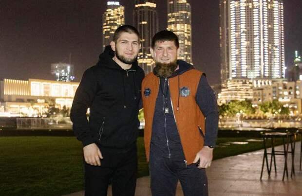 """Кадыров готов заплатить любые деньги, чтобы увидеть бой Хабиба с бойцом из """"Ахмата"""""""