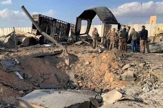 Из 7 бомб, сброшенных США на иранскую базу в Сирии, 5 промахнулись
