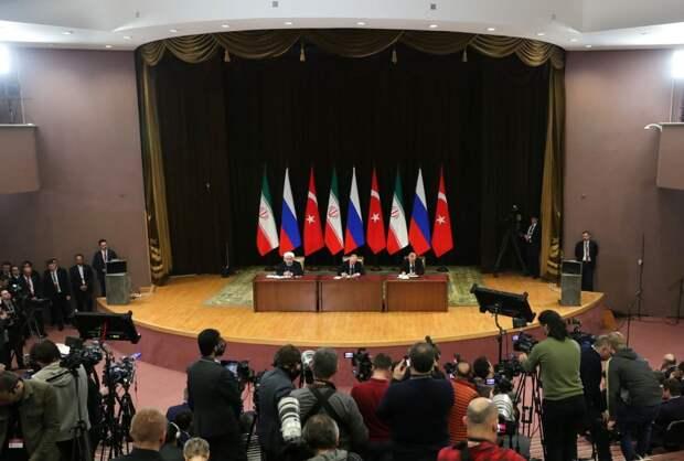 Роль России, Ирана и Турции в послевоенной реконструкции Сирии