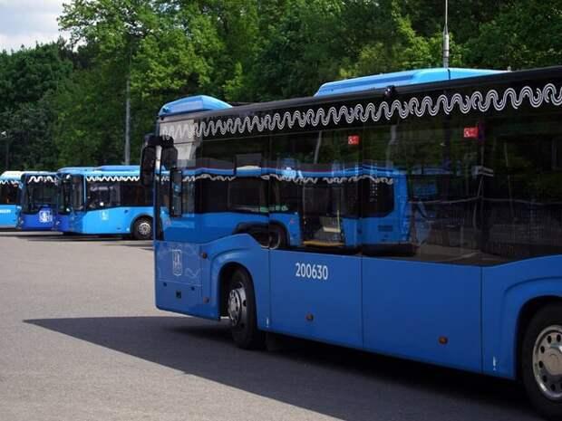 Режим работы четырех автобусных маршрутов в Москве изменится с 15 июня