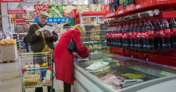 Россияне тратят на еду почти треть своего бюджета