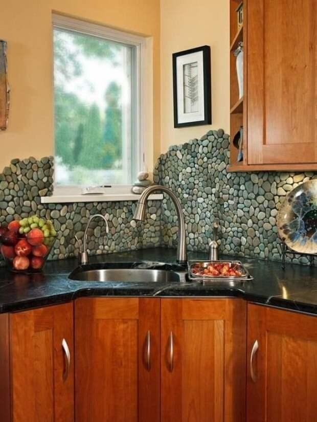 Вот идеи для кухни Фабрика идей, дизайн, дом, интерьер, камни, красота