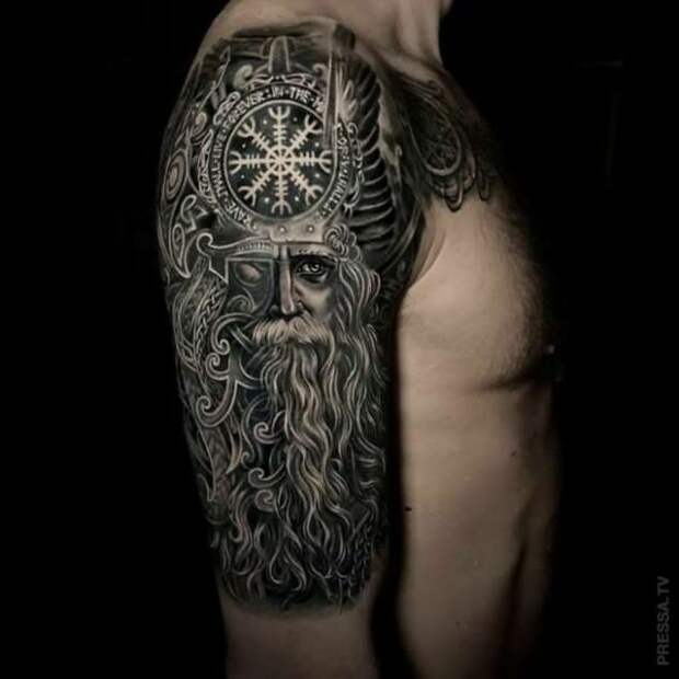 Татуировки на тему викингов