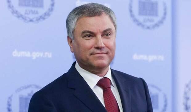 """Володин победил на праймериз """"ЕР"""" в Саратовской области"""