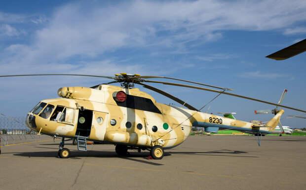 В Ливии захвачен российский военный вертолет Ми-8