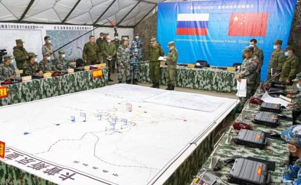 Запад панически боится создания военного союза Москвы и Пекина