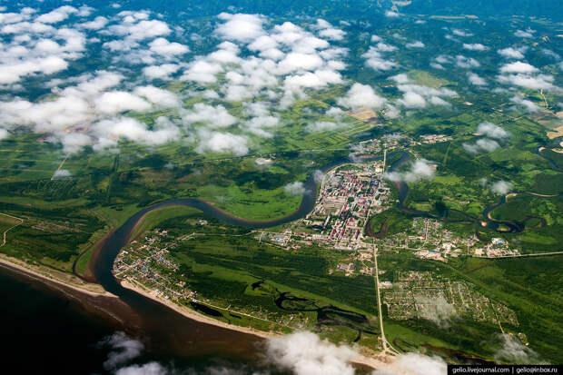Сахалинский город Анива.
