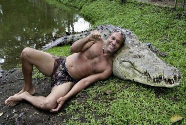 Крокодильчик просто душка.