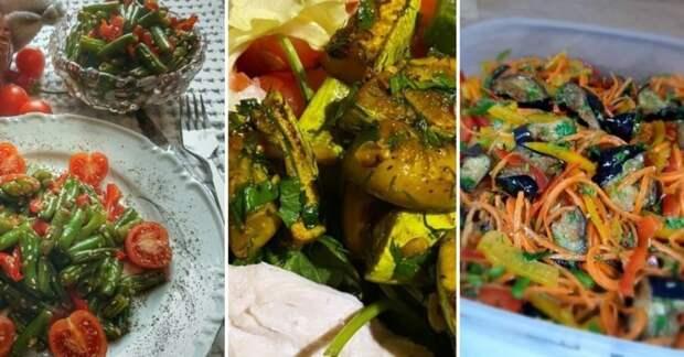 Теплые салаты: три быстрых рецепта
