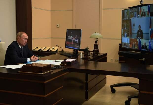 Путин рассказал об испытании дочерью противокоронавирусной вакцины