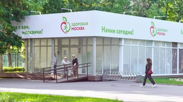 Диспансеризацию в павильонах «Здоровая Москва» в парках прошли 7 тысяч человек за три дня