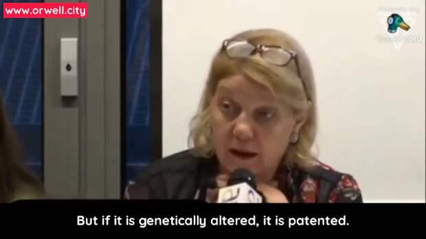 Доктор Чинда Брандолино: «Если ДНК генетически изменена, ее можно запатентовать»