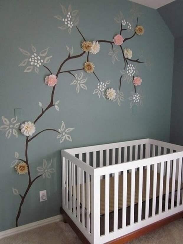 Декор детской спальни