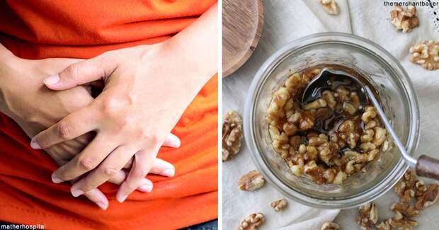 4 рецепта с орехами – при болезнях желудка, поджелудочной и печени