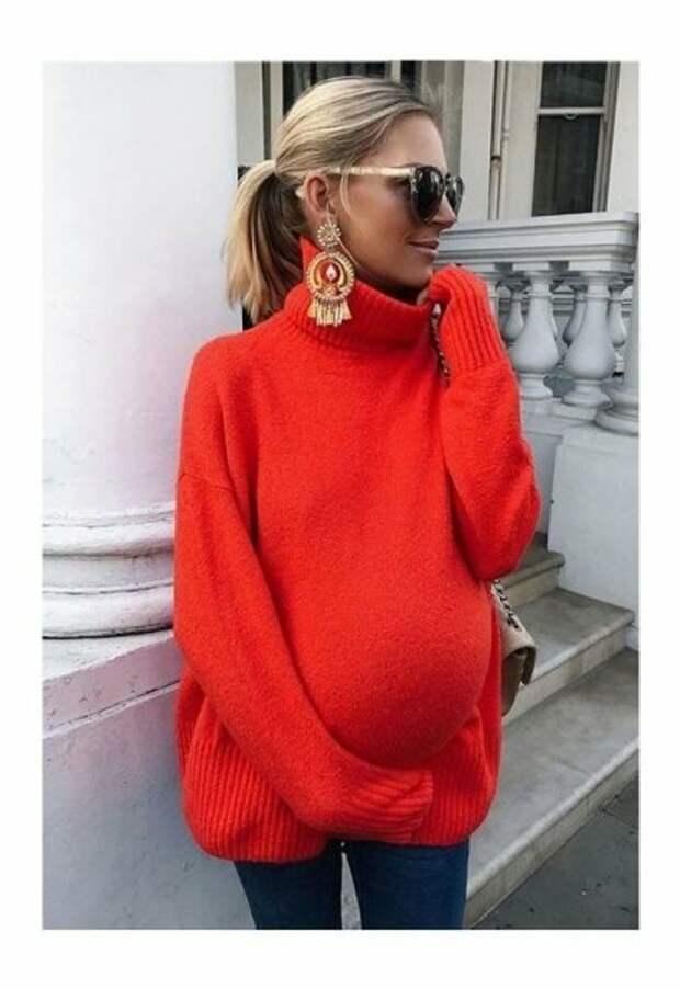 19 роскошных образов для будущих мам, чтобы быть стильной даже с животиком