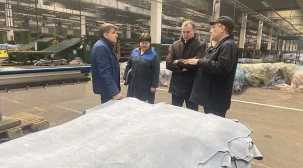 Исаченко: кожевенная отрасль - одна из стратегических в Беларуси.