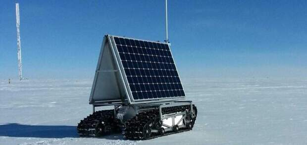 Танки НАТО на солнечных батареях
