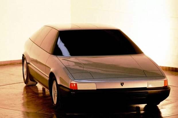 4-местный хетчбэк Lamborghini авто, автодизайн, дизайн, интересно