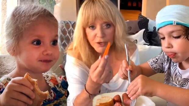 Что едят в семье Пугачевой и Галкина