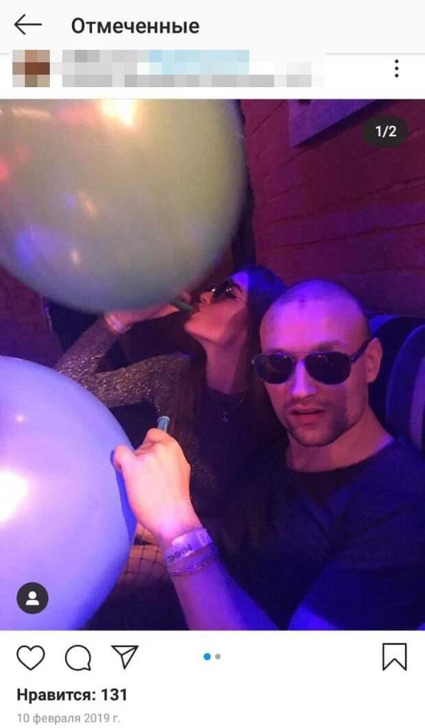 Шары в клубе Mix Afterparty © Instagram
