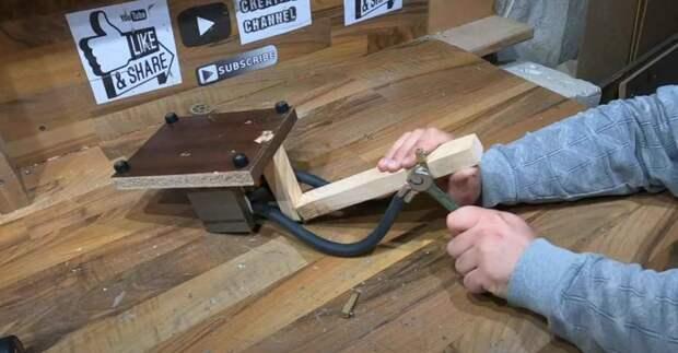 Сварочный аппарат из трансформатора микроволновки (для точечной сварки)
