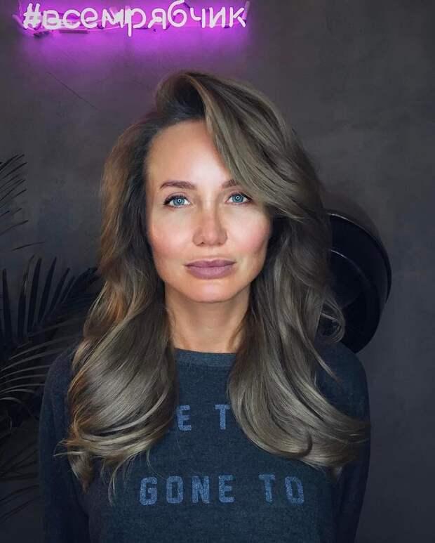 стрижки после 40 лет на разную длину волос фото 18