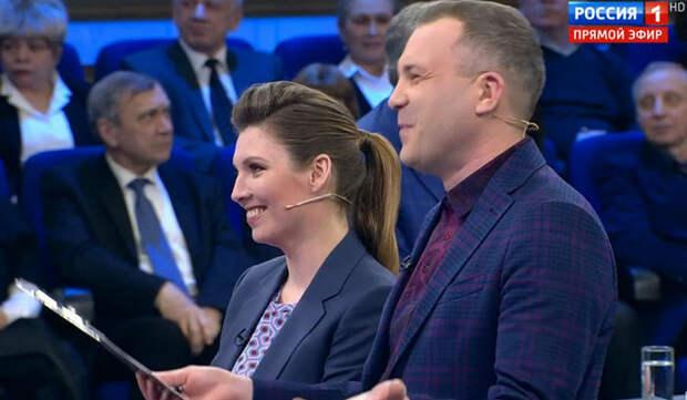 """Украинский журналист предложил Скабеевой позвать психиатра в студию """"60 минут"""""""