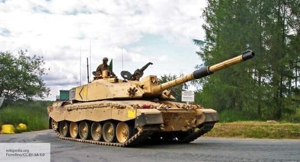 В США рассказали, как новые британские танки будут сражаться с Россией