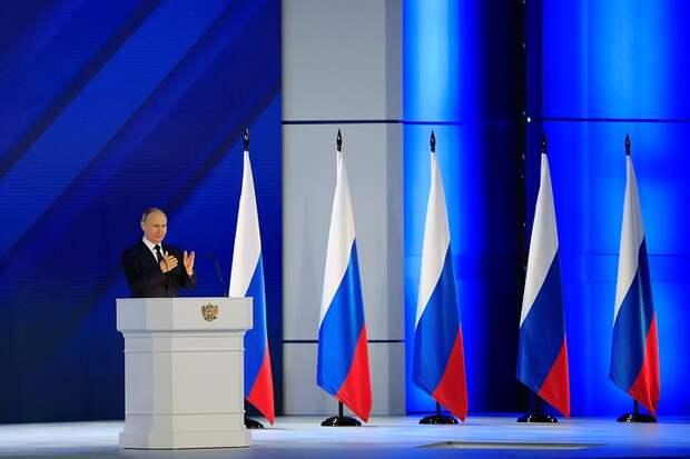 Западные СМИ о послании Владимира Путина: «Пришло время России»