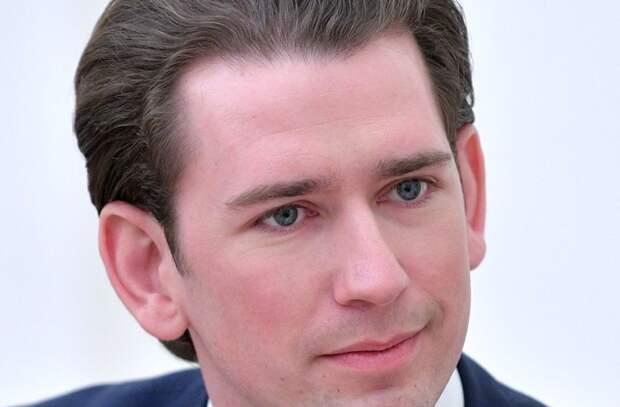 Канцлер Австрии поднял флаг Израиля над своей резиденцией